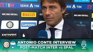INTER 2-1 SPAL | ANTONIO CONTE EXCLUSIVE INTERVIEW: