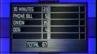 Family Feud Wilson vs. Fast Money Part 4 December 24, 2002