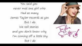 Taylor Swift - Begin Again - Lyrics