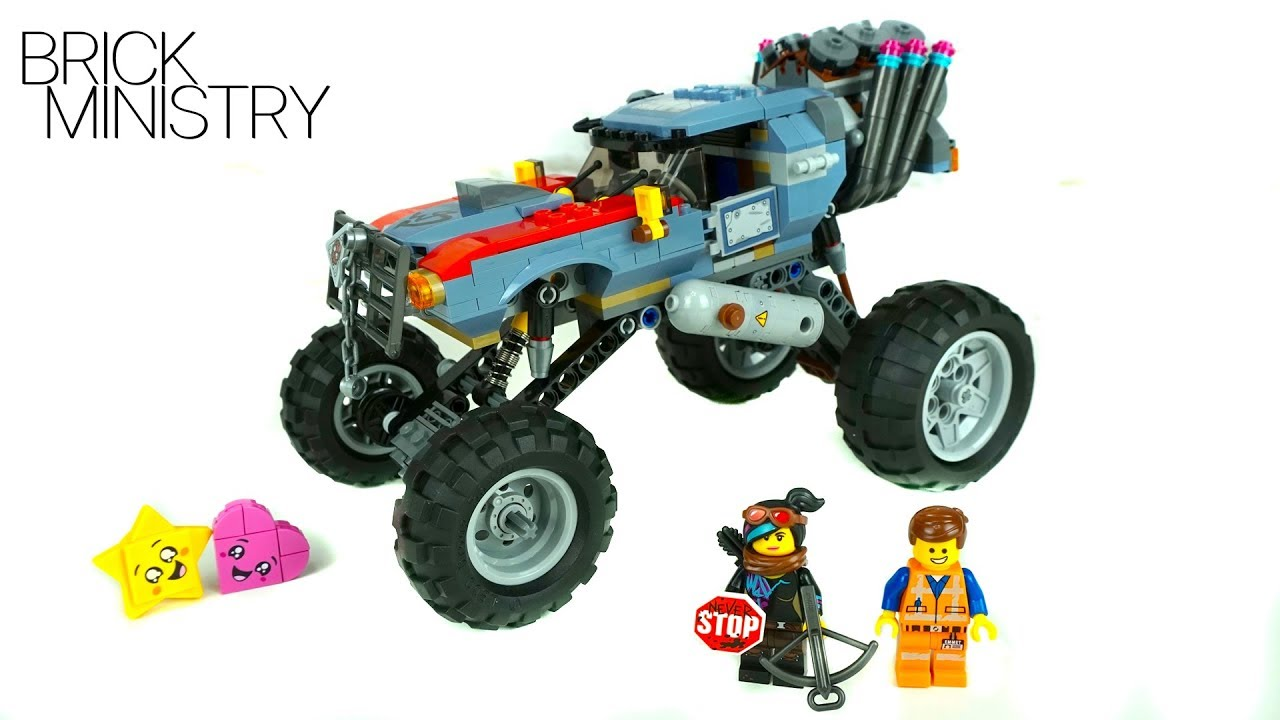 LEGO Movie 2 ● EMMET AND LUCY'S ESCAPE BUGGY ● Speed Build [70829]