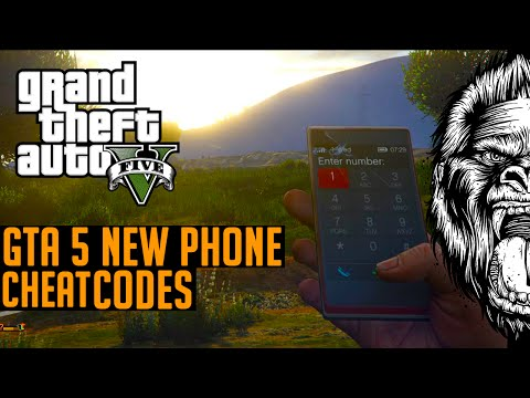 GTA 5 - NEW Cell Phone Cheat Code Numbers (GTA V PS4 & Xbox One