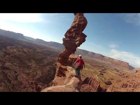 Climbing Ancient Art in Fisher Towers, Utah - GoPro