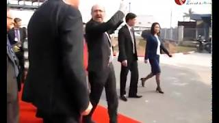 Phó Thủ tướng Vương quốc Bỉ thăm Khu công nghiệp Đình Vũ