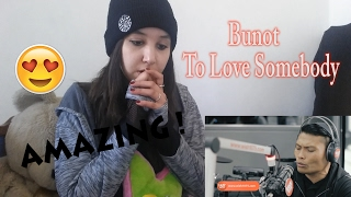 Roland 'Bunot' Abante Covers 'To Love Somebody'  _ REACTION