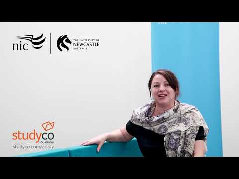 Newcastle International College - Life on Campus - Corina Sabatini