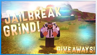 Roblox Jailbreak Live | Grinding all day :D | Anyone can join :)| Giveaway at everyone10 subs.