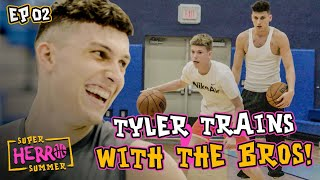 """""""I'm A Regular Person!"""" Tyler Herro Shows Us His LIFE! Training, Girlfriend & More 🔥 Ep 2"""