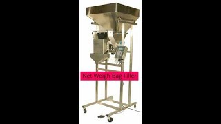 Inpak Systems | Logical Machines | S-4 Vibratory Net Weigher Bagger