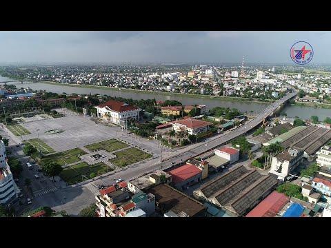 Thành phố Thái Bình bên dòng sông Trà