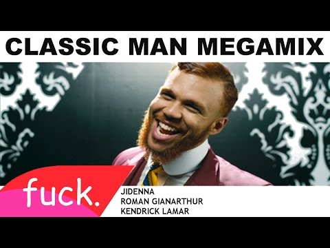 Jidenna- Classic Man MEGAMIX VIDEO + Lyrics (feat. Kendrick Lamar & Roman GianArthur)