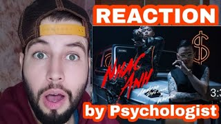 Andree Right Hand - NHẠC ANH ft. Wxrdie  REACTION by a Psychologist