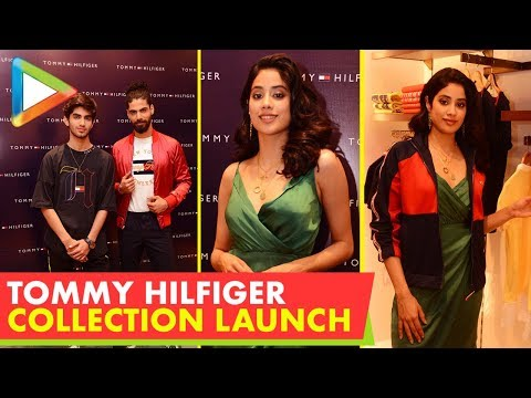 UNCUT: Jhanvi Kapoor @Launch of New Collection of  Tommy Hilfiger