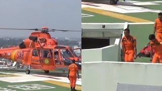 Simulasi Evakuasi Atlet Asian Games Alami Insiden Darurat Diterbangkan ke RS Pakai Helikopter