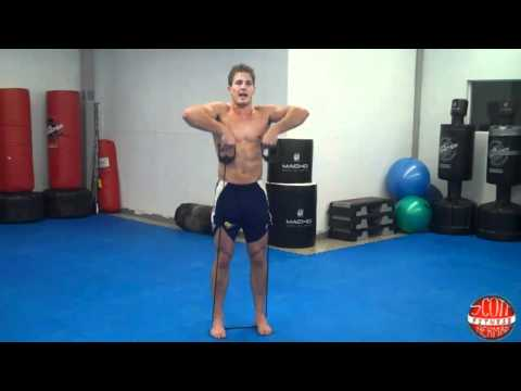 Banded Upright Row