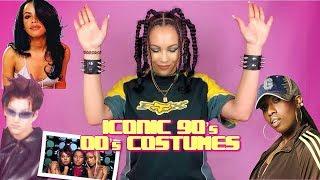LAST MINUTE 90s & 00s HALLOWEEN COSTUMES || Cyber Coco Halloween DIY