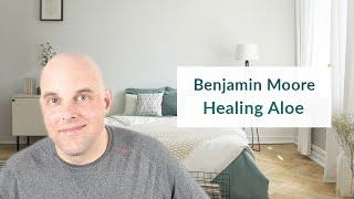 Benjamin Moore Healing Aloe Color Review