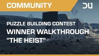 "Dual Universe | Alpha 2 | Puzzle Building Contest Winner Walkthrough ""The Heist"""