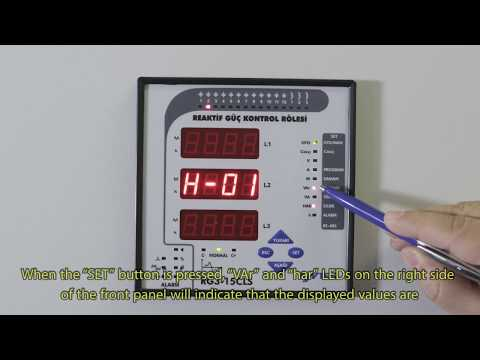 RG3-15 CLS Power Factor Controller Reactive Powers