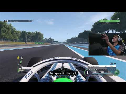 Esports Laptime Challenge #3 - F1 2018, Paul Ricard