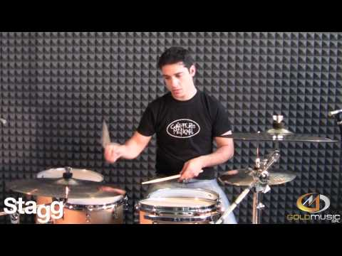 STAGG CYMBALS SERIE DH - MEDIUM