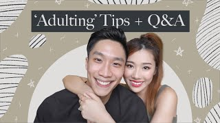 'ADULTING' TIPS + Q&A! | MONGABONG