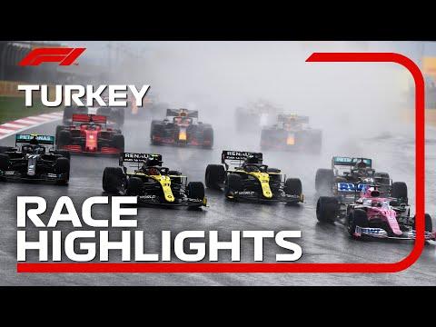 ルイス・ハミルトンが優勝しワールドチャンピオンを獲得したF1 トルコGP決勝レースのハイライト動画