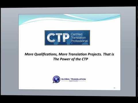 Translator Certification - YouTube