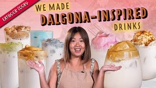 Making Dalgona Coffee, Speculoos And Bandung   Eatbook Cooks   EP 20