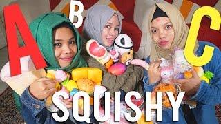 SQUISHY NYA ROBEK - ABC Lima Dasar Challenge Edition - RUSUH! | Gen Halilintar