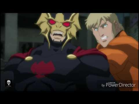 """Aquaman - """"Aquaman vs Orm final fight scene in justice league throne of atlantis"""""""