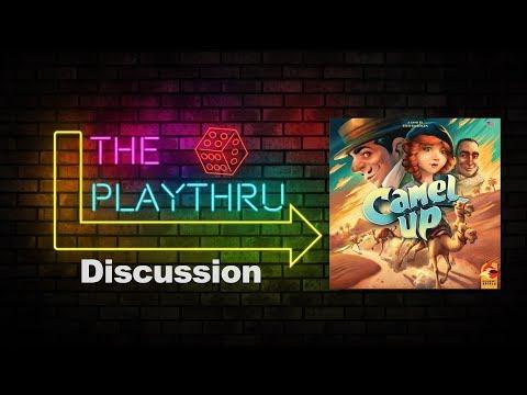 The PlayThru Reviews Camel Up!