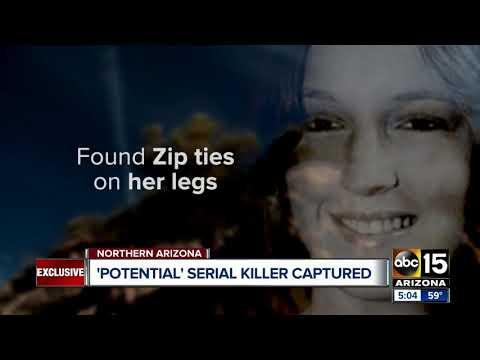 'Potential serial killer' captured in northern Arizona