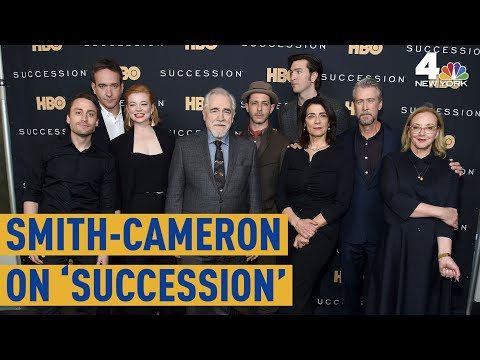 J. Smith-Cameron Chats 'Succession' Before Season Finale   New York Live