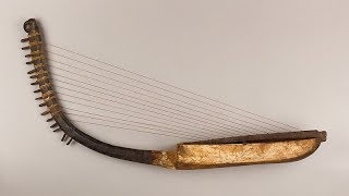 What did the ancient Egyptian Harp sound like?