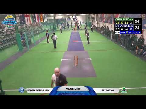 WICF 2019 Wednesday 23 Oct South Africa M35 Inv VS Sri Lanka M35 09:00 COURT 2