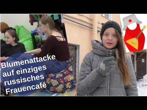 Blumenattacke auf Frauencafé in Petersburg [Video]