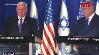 EUA mudará su embajada a Jerusalén a finales de 2019: Pence