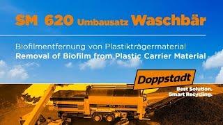 Doppstadt SM 620 Waschbär - Biofilmentfernung von Plastikmaterial