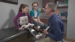 Ott Family, Spina bifida bracing - Orthotics