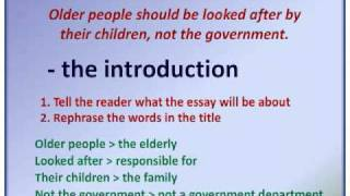 Essay writing - writing an introduction