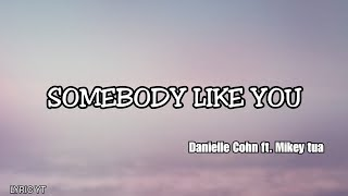 SOMEBODY LIKE YOU   Danielle Cohn Ft. Mikey Tua (Lyrics)
