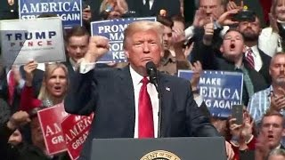 President Trump Rally in Nashville, TN. Pres. Trump remarks on Obamacare replacement bill