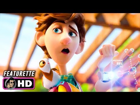 SPIES IN DISGUISE Featurette - Meet Walter (2019) Tom Holland