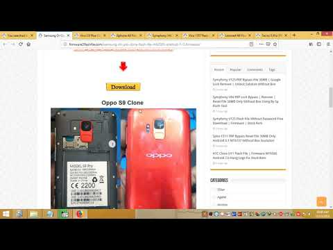 Samsung Galaxy S9 SM G9600 MT6580 Andriod 7 0 Official Firmware