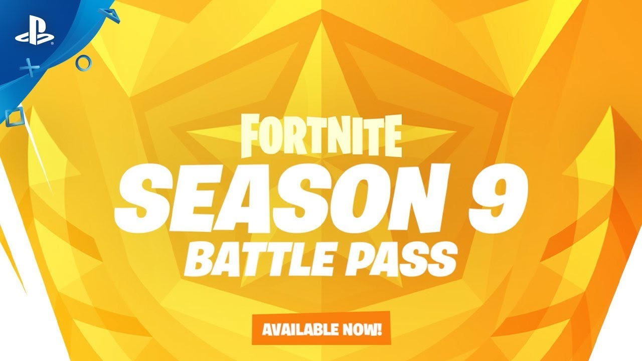 Fortnite Battle Pass Season 9 Ps4 Game Playstation