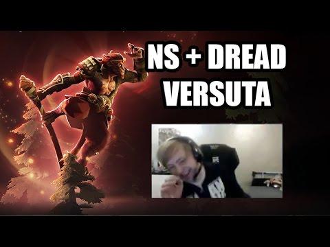 NS (+DREAD + VerSuta) ИГРАЕТ ПАБ НА MONKEY KING | DOTA 2 7.00