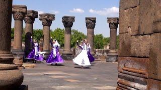 Армения своим ходом  || Храм Звартноц || Здесь крестилась Армения