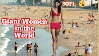 TALLEST WOMEN IN THE WORLD