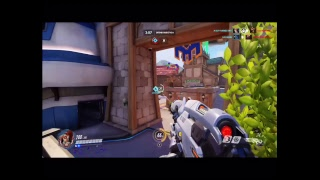 Playing overwatch !!