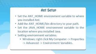 APACHE ANT TRAINING INDIA USA | APACHE ANT Free Demo | Tutorial @ Ecorptrainings
